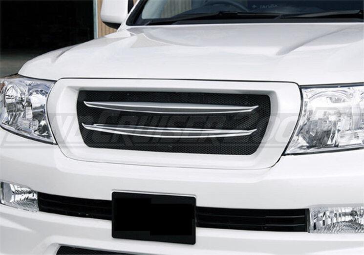 Решетка радиатора JAOS для Toyota Land Cruiser 200 (2007-2015)