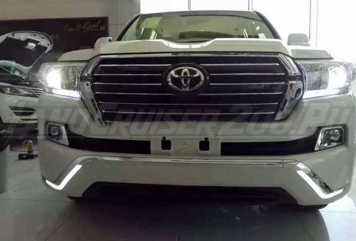 Обвес Executive (Middle East) Toyota Land Cruiser 200 (2016-2019) LED