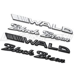Эмблема Wald Black Bison на Land Cruiser 200