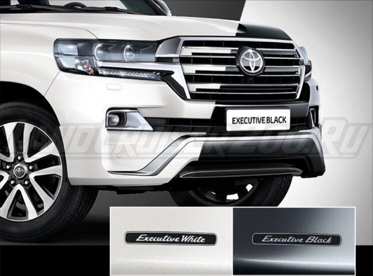 Фары Executive Toyota Land Cruiser 200 (2016-2019)