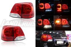 Стоп-сигналы рестайлинг Toyota Land Cruiser 200 (2007-2015)