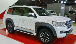 Расширители колесных арок TRD Land Cruiser 200 (2016-2019)