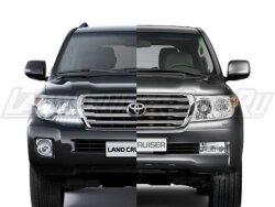 Рестайлинг Toyota Land Cruiser 200 в 2012 Базовый