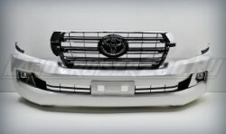 Рестайлинг (facelift) Toyota Land Cruiser 200 Базовый