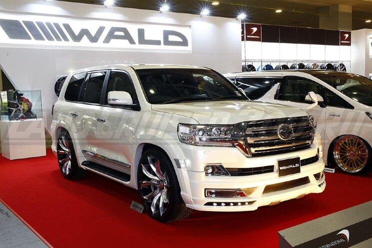 Обвес Wald Toyota Land Cruiser 200 (2016-2021) полный комплект