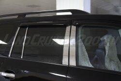 Накладки на стойки дверей Toyota Land Cruiser 200 (2007-2021)