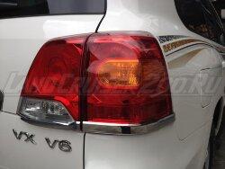 Накладки на стоп-сигналы Toyota Land Cruiser 200 (2012-2015)