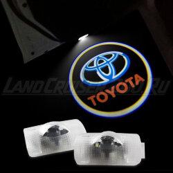 Проекция логотипа Toyota для Land Cruiser 200
